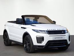 convertible land rover cost used land rover range rover evoque convertible for sale motors co uk