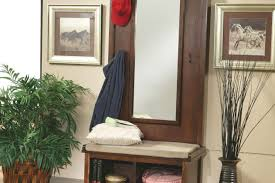 Entryway Solutions Bench Entryway Bench And Hooks Amenity Hall Tree With Storage