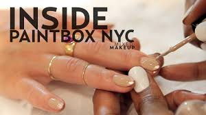 nail art perfect manicure at paintboxil salon in nyc mixed makeup