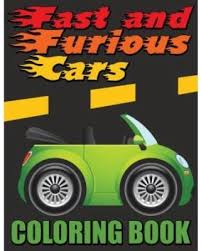 holiday shopping u0027s hottest deal fast furious cars coloring book