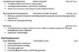 Interests Resume Examples by Cv Examples Interests