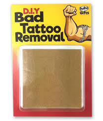 d i y bad tattoo removal funny gifts u2013 haha gifts limited