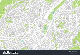 stuttgart on map urban city map stuttgart germany stock illustration 619349849