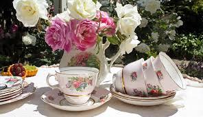 vintage garden tea party home party ideas