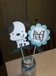 Baby Boy Shower Centerpiece by 25 Best Puppy Baby Showers Ideas On Pinterest Diaper Animals