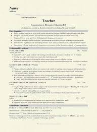 exle of teaching resume teachers resume 19 grade school exle nardellidesign