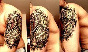 half sleeve arm tattoos robot arm tattoo half sleeve danielhuscroft com