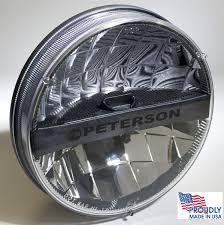 headlights jeep wrangler peterson mfg jeep wrangler led headlight jk