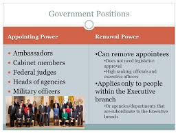 Cabinet Officers Constitutional And Implied Powers Of The Executive Branch Ppt