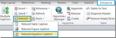 Table To Equation Quickly Convert Text To Equation Captions In Word