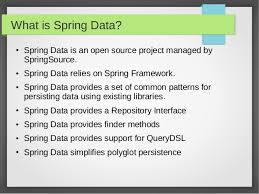 what is spring spring data in 10 minutes