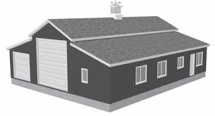 Workshop Garage Plans G450 60 X 50 X 10 Apartment Barn Style Garage Plans Home Sweet