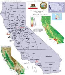california map population density counties map