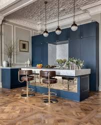 Transitional Pendant Lighting Kitchen - adelphi cabinets kitchen eclectic with leather bar stools