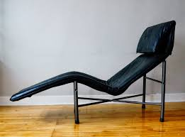 Vintage Chaise Lounge Str8mcm Vintage Leather Chaise Lounge