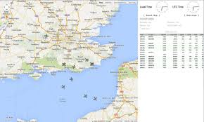 Rpi Map Flight Tracking With Ads B Using Dump1090 Mutability And Hackrf