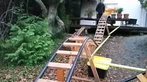 byrc 2d 01 2d backyard roller coaster in slow motion youtube