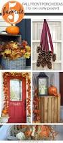 fall front porch decorations front porch decorations