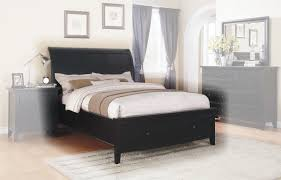 king storage bed in black by winners only
