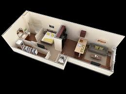 small one bedroom house plans 25 one bedroom house apartment plans