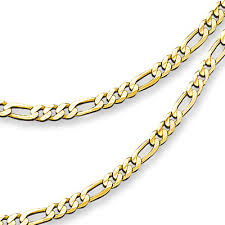 figaro chain gold necklace images Solid gold italian necklace one pound of mixed jewelry jpg