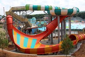 6 Flags Water Park Hurricane Harbor Opens At Six Flags Over Georgia Video