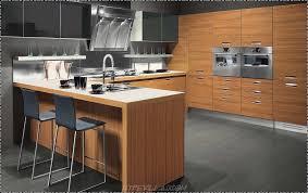 wooden kitchen design home decoration ideas