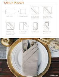 9 creative napkin folds for every type of hostess tutorial