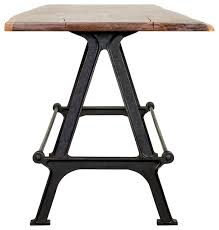 Industrial Dining Table Kosen Dining Table Reclaimed Harwood Industrial Dining Tables