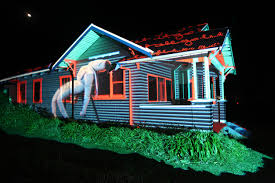 house projection mapping house interior