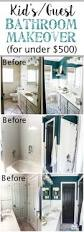 kid u0027s guest bathroom makeover reveal bless u0027er house