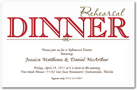 rehearsal dinner invitations wording sle rehearsal dinner invitations gangcraft net