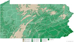 pennsylvania state map map of pennsylvania