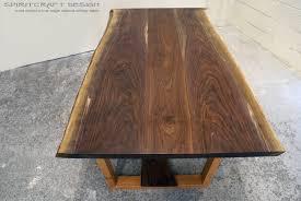 live edge table top custom solid hardwood table tops live edge slabs