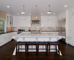 White Kitchen Island With Stools by Flooring Helsinki Walker Zanger Backspash On White Kitchen