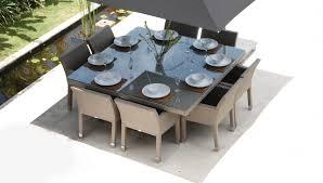 design metz 8 seater dining set buy online at luxdeco