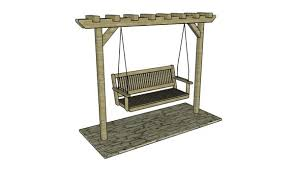 Swing Arbor Plans 7 Free Garden Swing Plans Free Porch Swing Plans How To Build