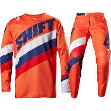 orange motocross boots shift 2017 new mx whit3 label tarmac jersey pants orange motocross
