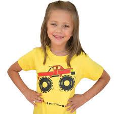 mathematical monster truck fitted kids shirt svaha svaha