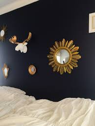 White Bedroom Gold Accents Valspar Indigo Streamer Paint With White And Gold Accents Moose