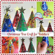 christmas toddler craft easy hat christmas trees