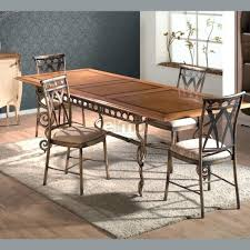 table de cuisine en fer forgé table de cuisine en fer forge table salle a manger bois et fer pour