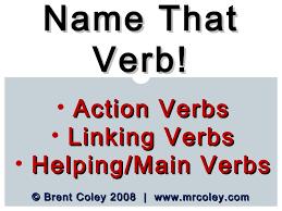 verb powerpoint