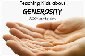 teaching kids about generosity all done monkey