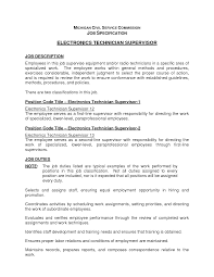 sample resume engineering electronics mechanic sample resume call center quality analyst cover letter electronics engineer job description electronics test best photos electronic technician duties resume engineering job