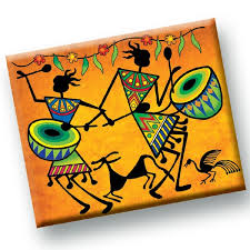 Warli Art Simple Designs Buy Wondrous Warli Art U0026 Craft From Toykraft