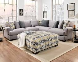 american freight depalma gray 3 pc sectional sofa sectionals living rooms