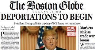 resident trump the boston globe predicts a world with president trump attn