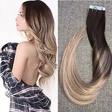 real hair extensions shine 18 inch human hair extensions of glue in