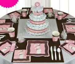Baby Blue And Brown Baby Shower Decorations 54 Best Pink And Brown Baby Shower Images On Pinterest Shower